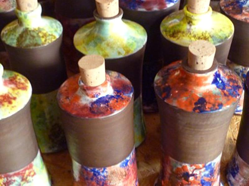 bouteilles de sirop